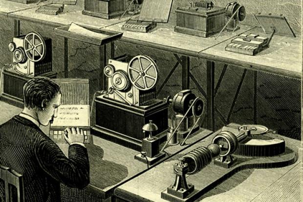Резултат с изображение за новини предадени чрез телеграф.